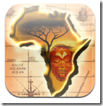 Free iPad app - Puzzle of Africa to teach students the names, shapes and placement of the countries of Africa.