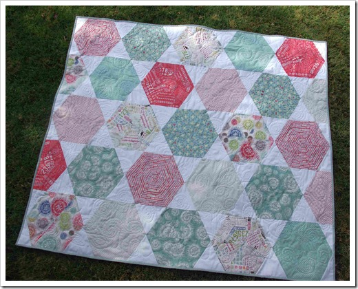 Hexis and Stars Quilt