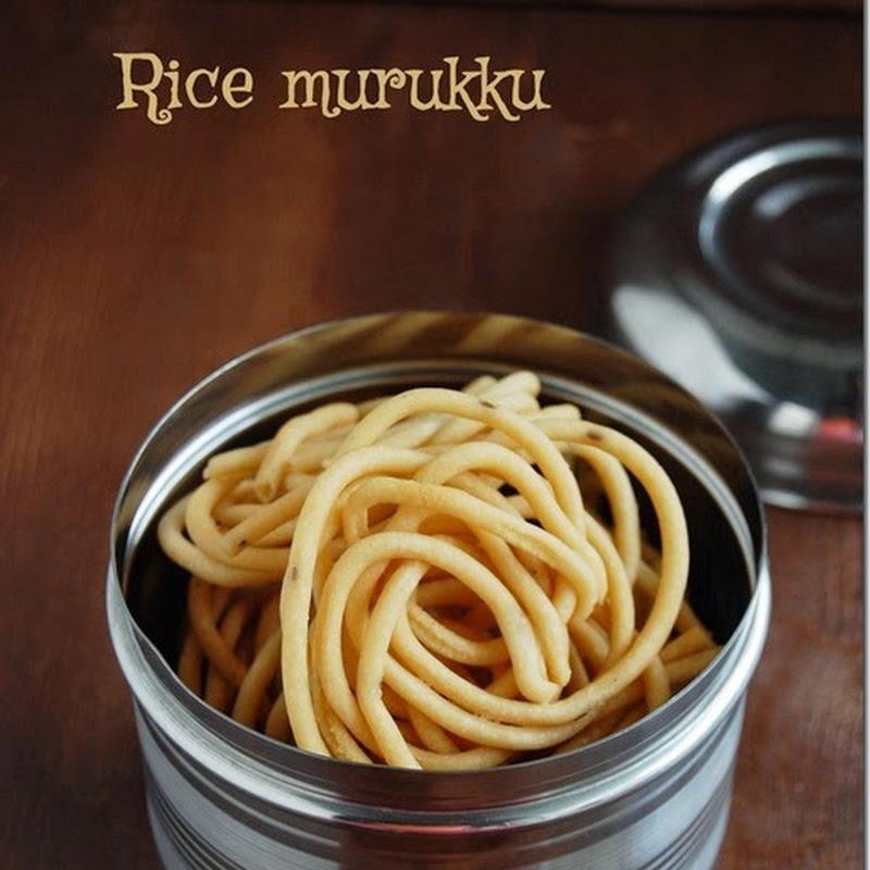 Rice murukku / Arisi murukku