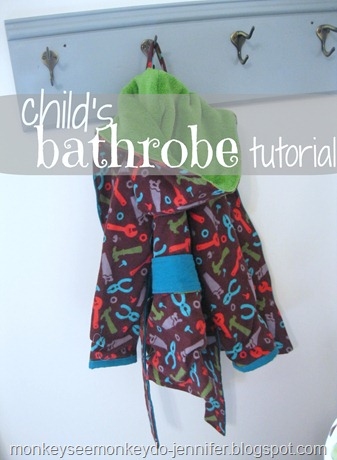 bathrobe tutorial title