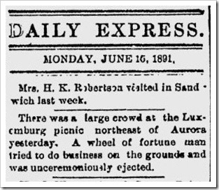 Aurora Daily Express 1891-06-15