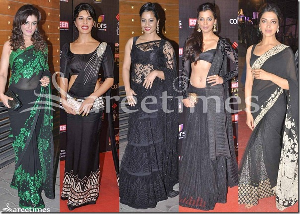Bollywood_Black_Saree_Fashion_2013