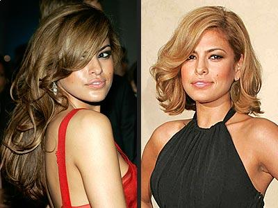 Eva Mendes Long Hairstyle