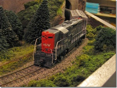 IMG_0440 Cotton Belt GP7 #3310 on My Layout on April 5, 2008