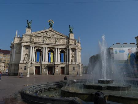 Obiective turistice Lvov: Teatrul si Opera