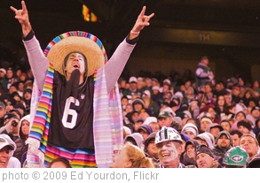 'Ay, caramba! Why on earth am I wearing Mark Sanchez's jersey number?' photo (c) 2009, Ed Yourdon - license: http://creativecommons.org/licenses/by-sa/2.0/