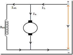 DC shunt Motor Connection Diagram