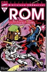 P00013 - ROM - Biblioteca Marvel #13