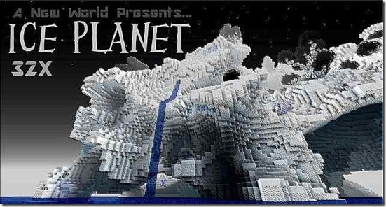 Ice-planet-Minecraft-texture-pack