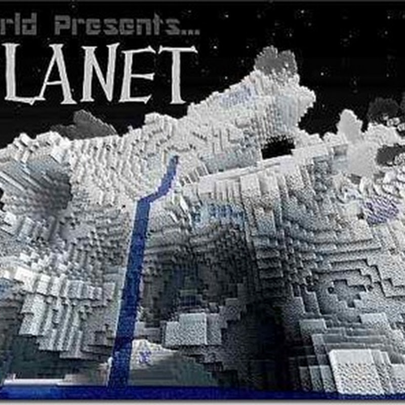 Minecraft 1.2.5 - Ice Planet Texture pack (32x)