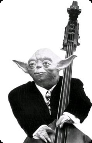 cool star wars photos yoda playing bass