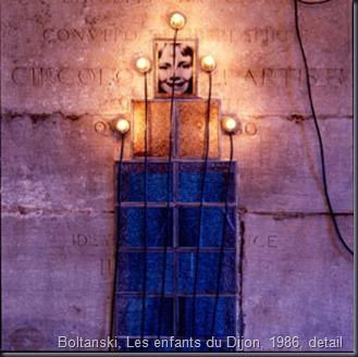 boltanski, Les enfants du Dijon, 1986, detail