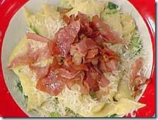 Pappardelle con prosciutto e zucchine