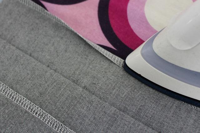 ironing hems