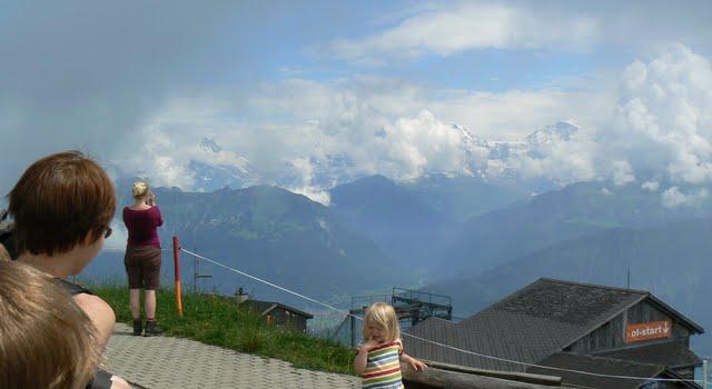 Endnu en udsigt mod Jungfrau fra toppen af Niederhorn