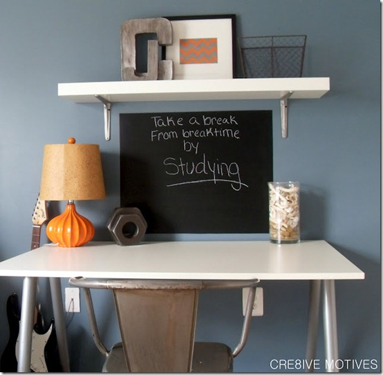Cre8ive Motives chalkboard and desk
