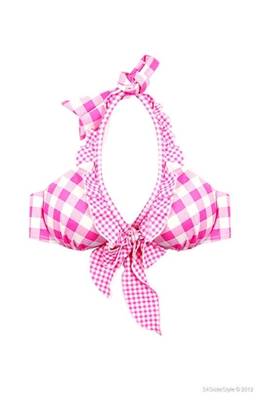 sweet-pink-check-skirt-style-bikini