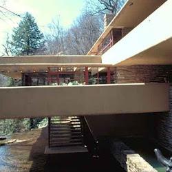 14.- F. Lloyd Wright. Casa de la Cascada