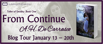 {Review+Giveaway} From Continue by A.H. de Carrasco