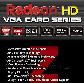 Zalman Graphics Card, AMD Radeon
