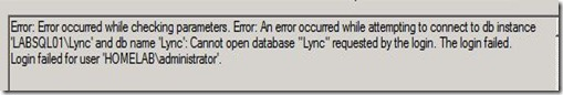Lync Stress - Server - Instance