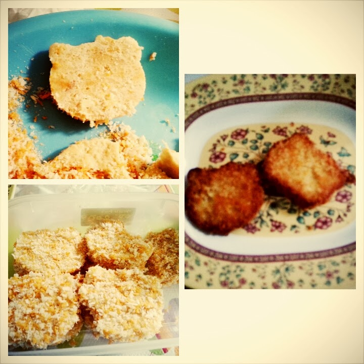 Nugget Ayam Brokoli Keju Dessy Mardiana: Her Favorite Meals... Homemade Nugget Hello Kitty