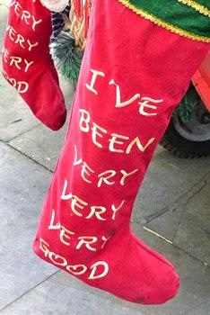 Custard Factory, Birmingham, носок для подарков от Санта Клауса