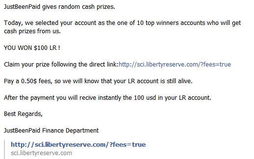 Hack Liberty Reserve, Hati-hatilah!