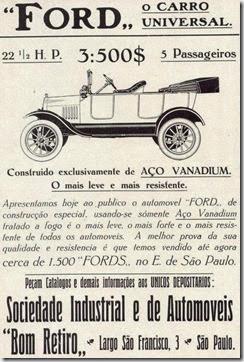 Anúncio antigo Ford 01