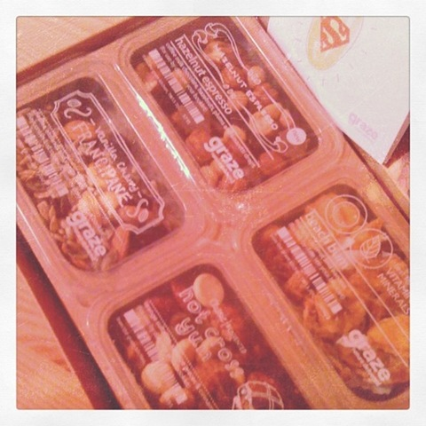 #38 - new healthy Graze box sweet snacks