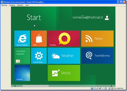 Desktop Windows 8