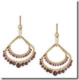 Chan Lu Garnet Earrings