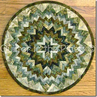 Folded Circle Centerpiece