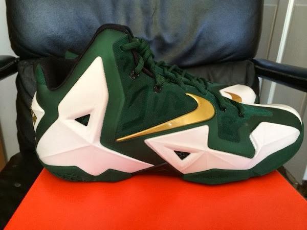 New Images  Nike LeBron XI 11 8220SVSM8221 Home PE
