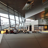 restaurant at bmw welt in Munich, Bayern, Germany