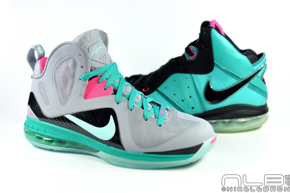 huge selection of c5dad 9b1bf Releasing Now  Nike LeBron 9 Elite Miami Vice   South Beach   NIKE LEBRON - LeBron  James - News   Shoes   Basketball