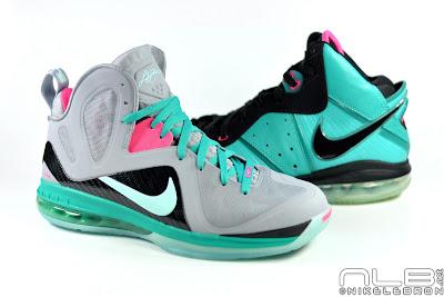 lebron9 ps elite south beach 15 web white Releasing Now: Nike LeBron 9 Elite Miami Vice / South Beach