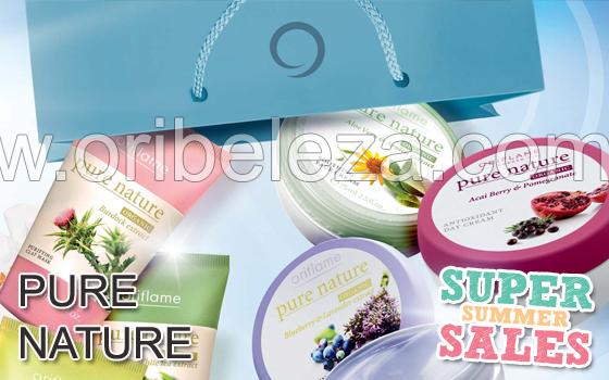 Pure Nature – Saldos Verão 2011 da Oriflame