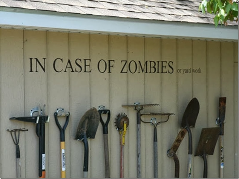 funny-zombies-tools-weapon-yard