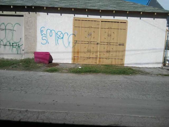Compton Crip Graffiti Mona Park Compton Crip