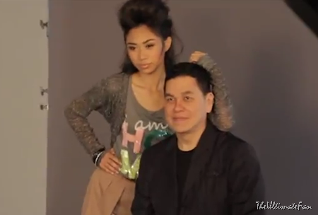 Jessica Sanchez with Ben Chan