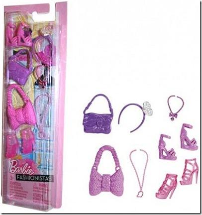 Barbie Akcesoria dla lalki X0111 Mattel N4811_pic1