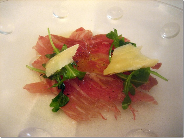 gelonch: wagyua carpaccio