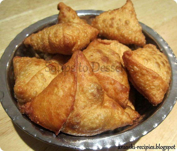 Vegetable Samosa 4