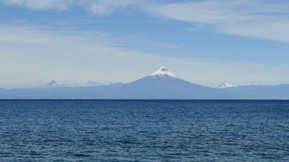 Puntiagudo, Osorno e Cerro Tronador