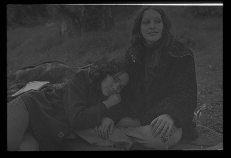 Delene Bivolcic (left) and Susan Greenspan. Circa 1972