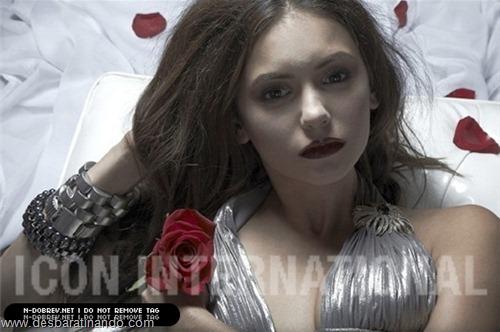 nina dobrev linda sensua sexy sedutora fotos Vampire Diaries desbaratinando (7)