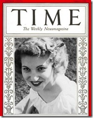 time cover 1928 -DORIS