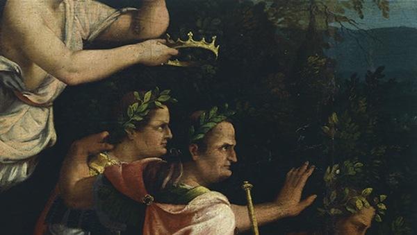 Vespasiano é declarado Imperador