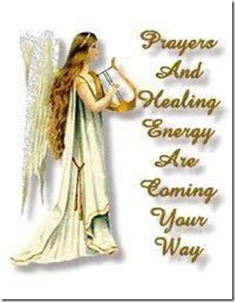 prayers and healing energy